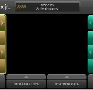 laser SphinxJr ekran